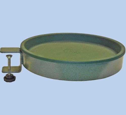 Simple Birdbath - Clamp On - Green