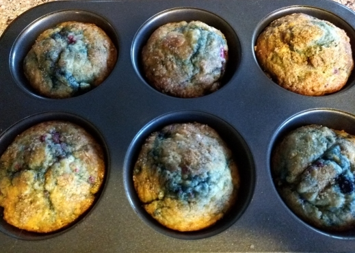Tri-berry Muffin Recipe