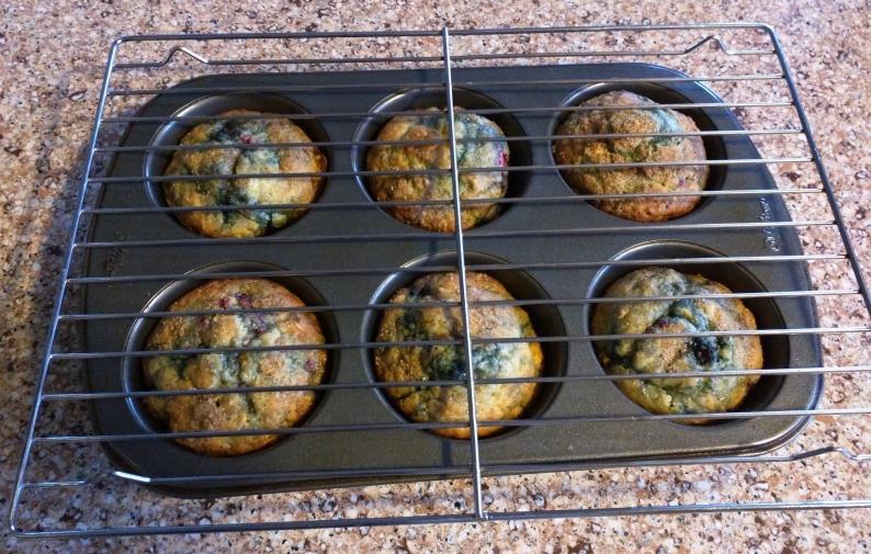 Tri-berry Muffin Recipe