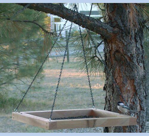 Hanging Platform Bird Feeder