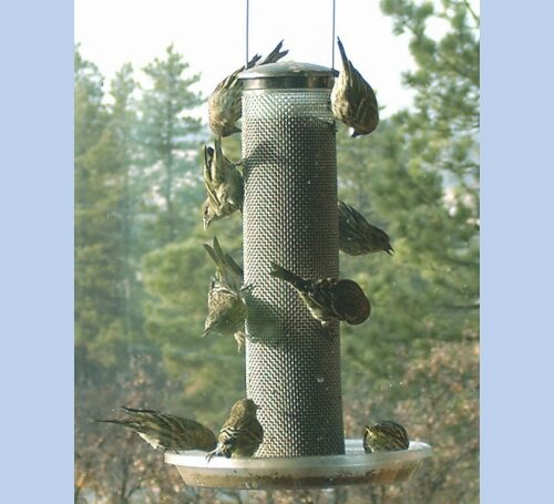 Wire Mesh Thistle Feeder